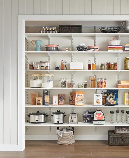 Kitchen Pantry Customclosetmaid
