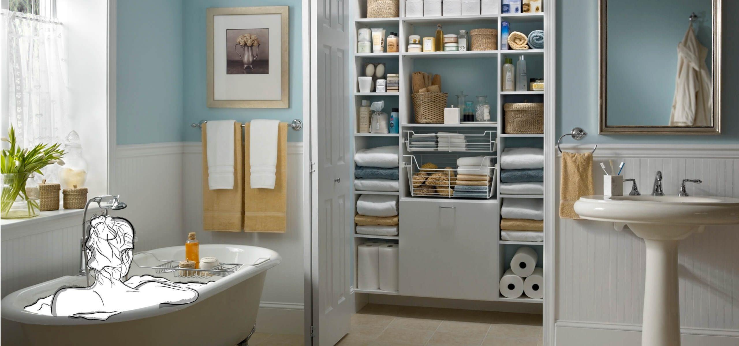 ClosetMaid MasterSuite Linen Closet